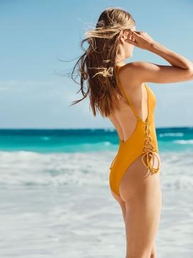 Рифленый купальник Victoria's Secret PINK